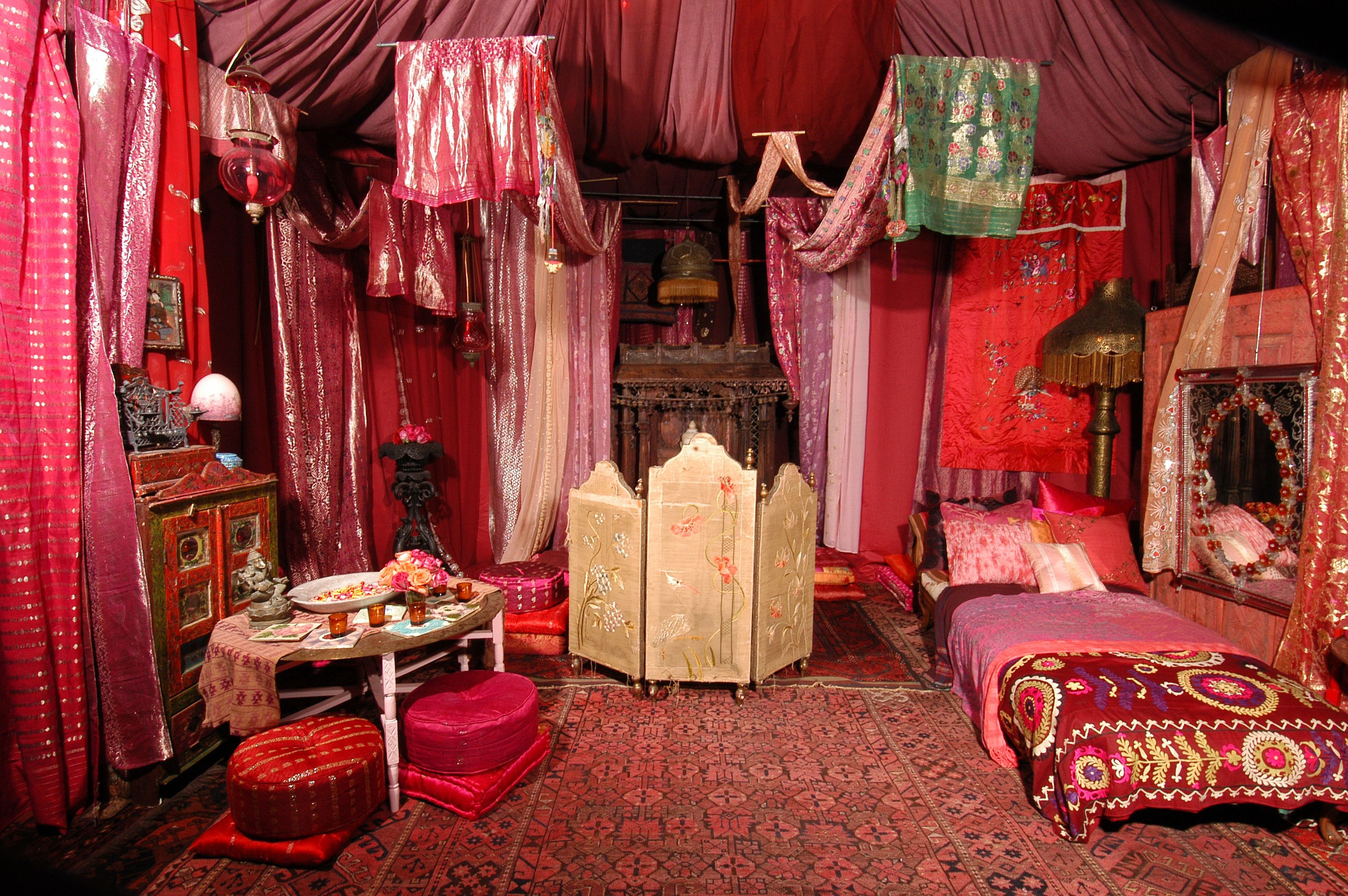 More Red Tent Style Decor  Ladies Weekend Away