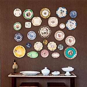 Cinco composições encantadoras para as paredes