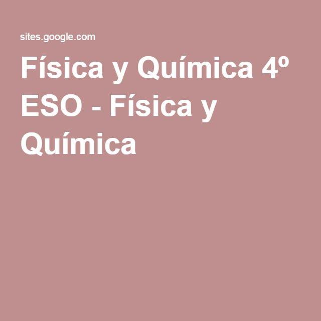 Física y Química 4º ESO - Problemas y soluciones Chemistry - best of tabla periodica de los elementos pdf wikipedia