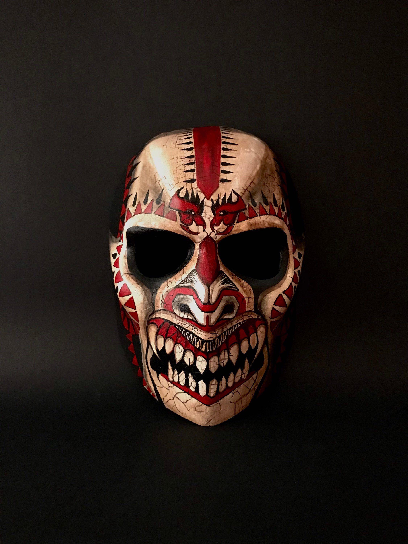 Halloween mask. Dragon mask. Demon mask. Masquerade mask