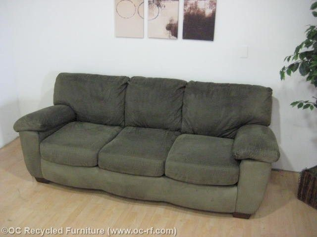 Green Microfiber Sofa With Images