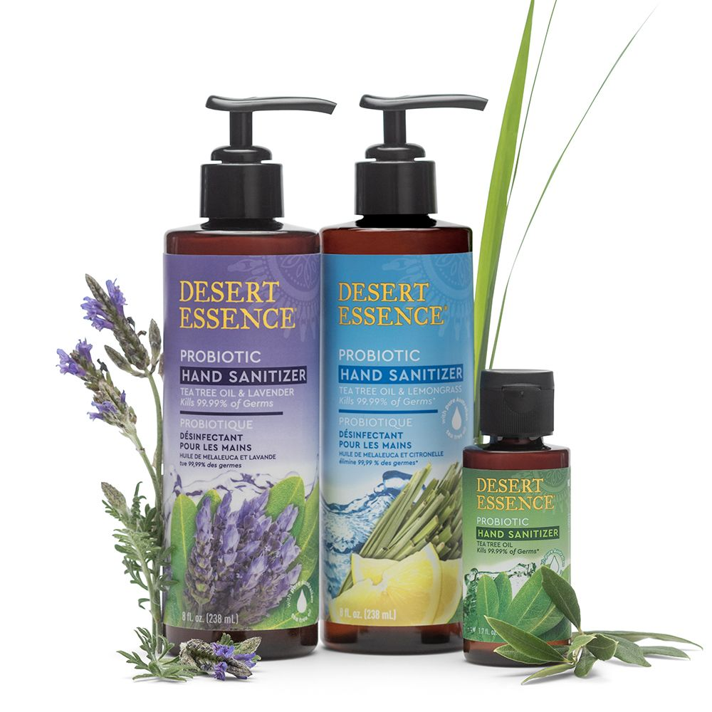 Clean Organic Hand Sanitizer Spray Lavender Lemon Organic