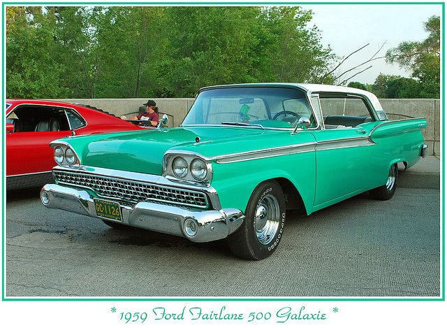 1959 Ford Fairlane 500 Ford Fairlane Ford Classy Cars