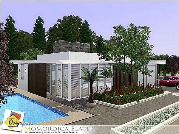 Momordica Elater house by Onyxium