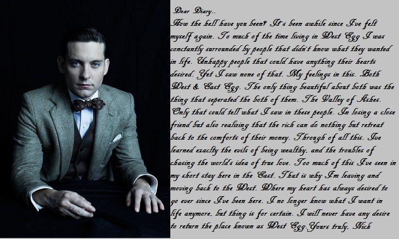 Great gatsby movie vs book essay