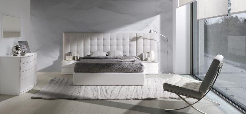 Dormitorios en color blanco | Blog Mobiliario y Decoración de Muebles BOOM