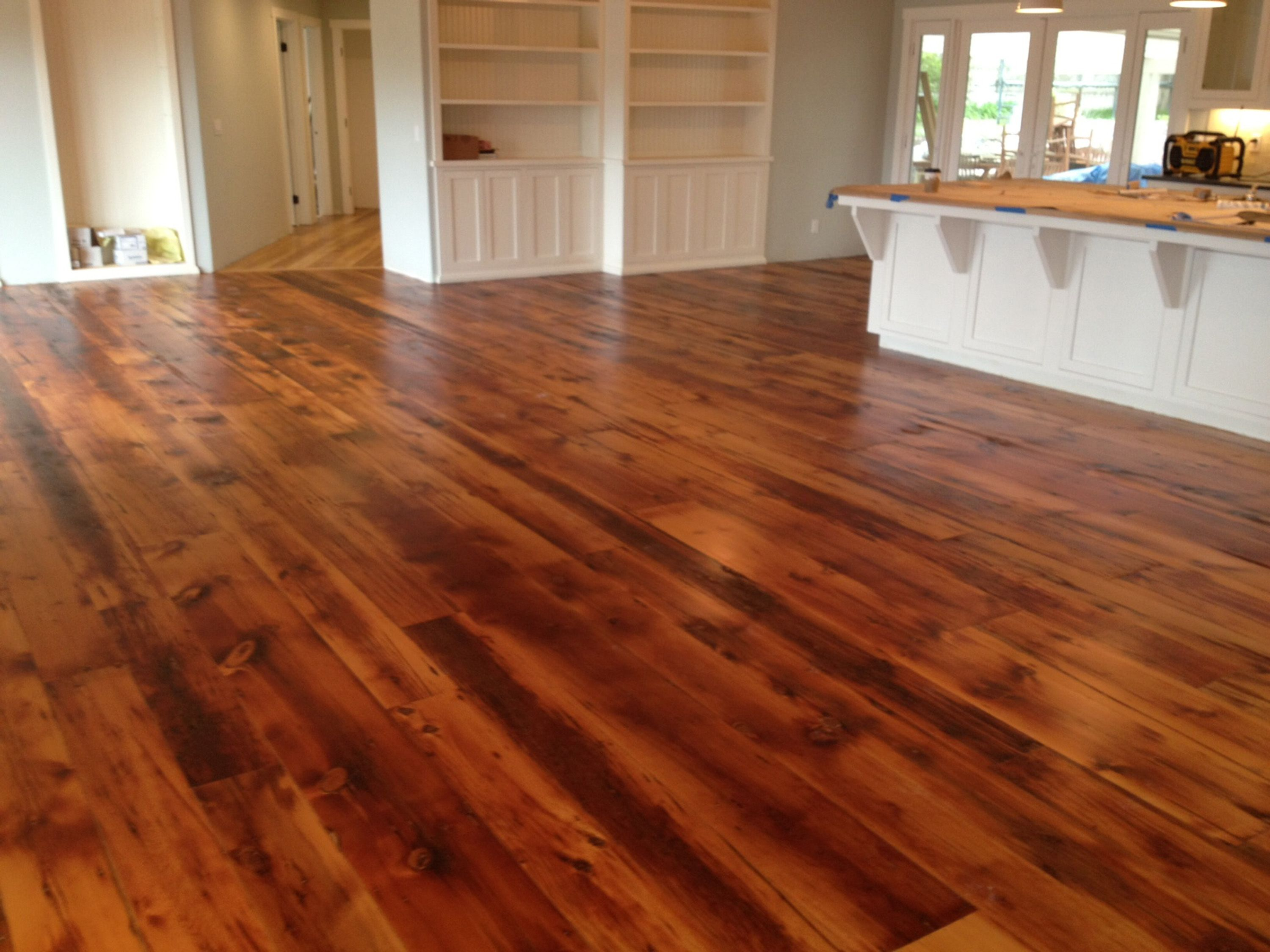 Barn Wood Floor Made From Siding Of An 1860 S Barn