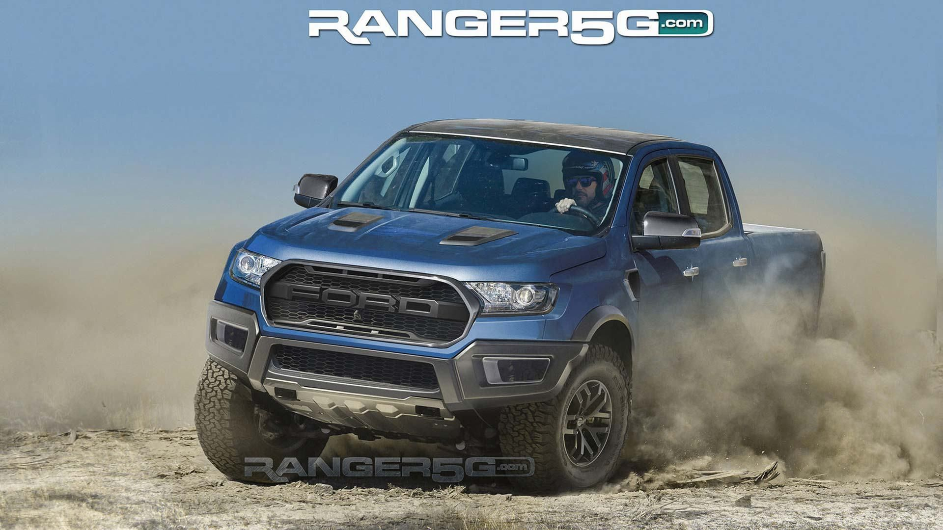 Awesome Ford Ranger Raptor Renderings Show Off Kickass Color