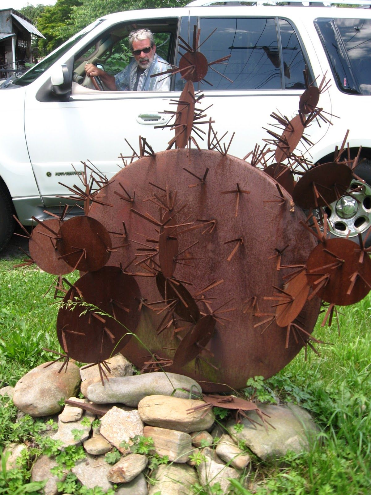 Scrap Metal Art Ideas Yard Art From Scrap Metal Yardjunk Art And
