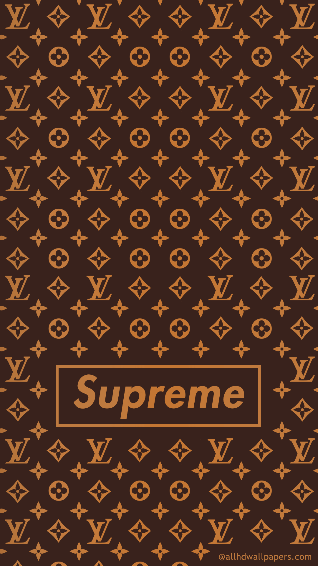 Lv Pattern Mobile Wallpaper Supreme Wallpaper Supreme Iphone Wallpaper Louis Vuitton Iphone Wallpaper