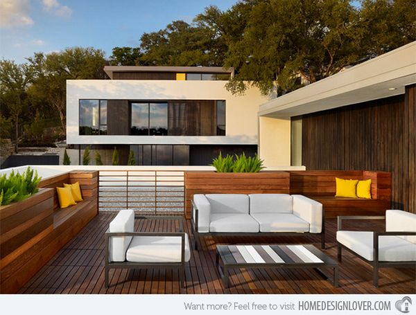Home Terrace Design. 15 Modern and Contemporary Rooftop Terrace Designs