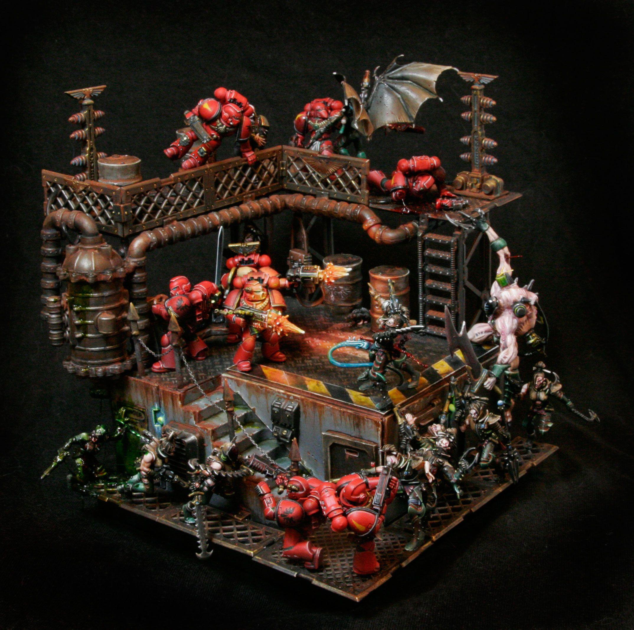 Diorama, Fantasy Miniatures