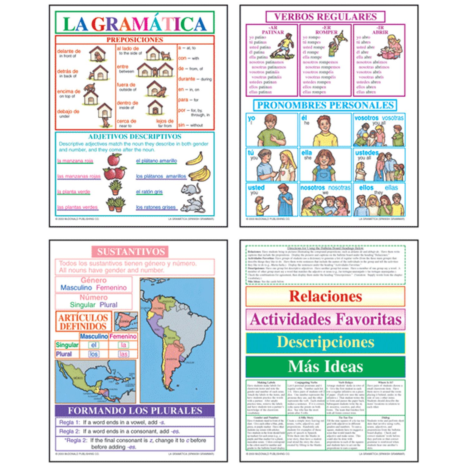 Spanish Grammar Set