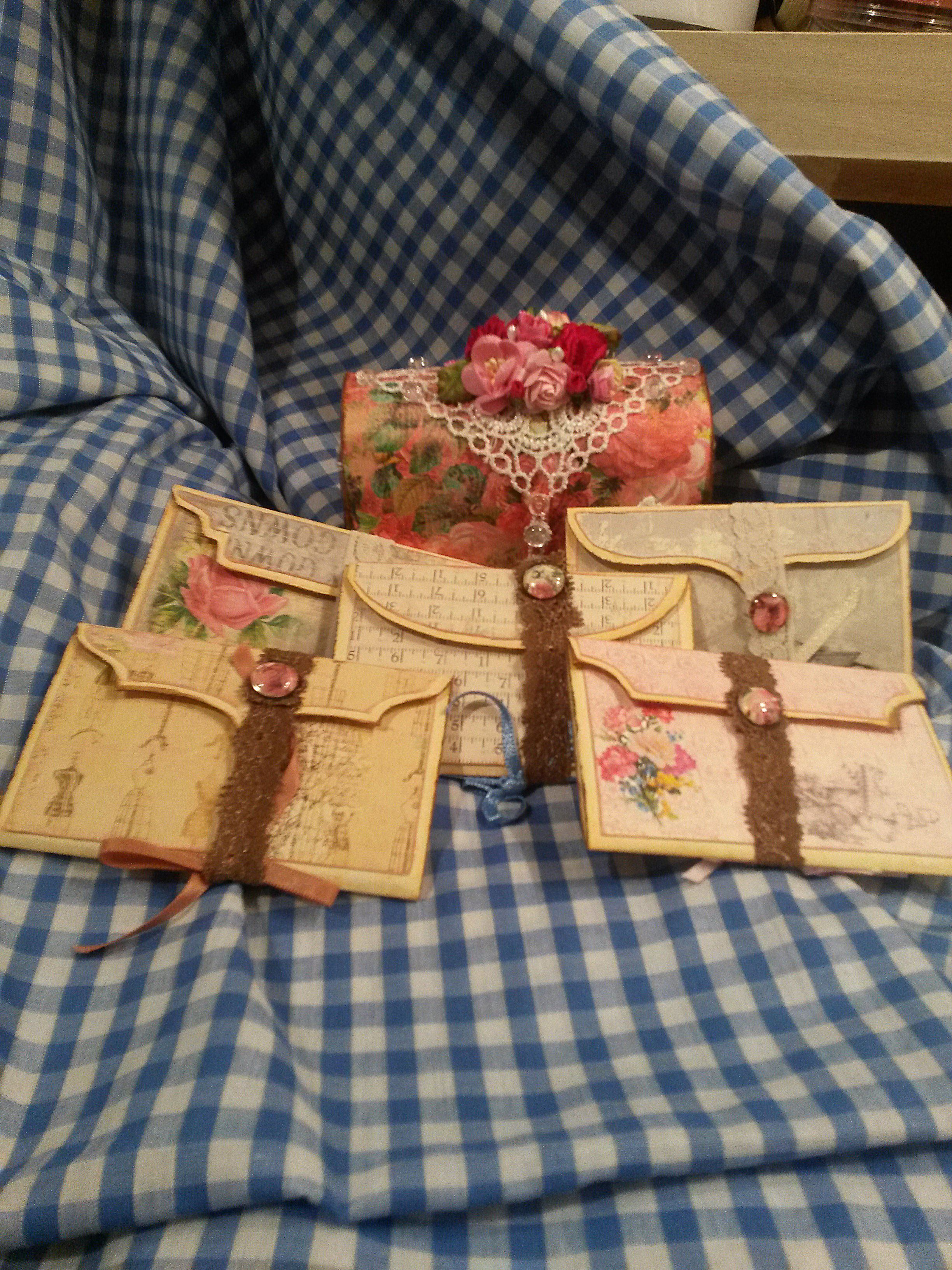 little file folder with books
