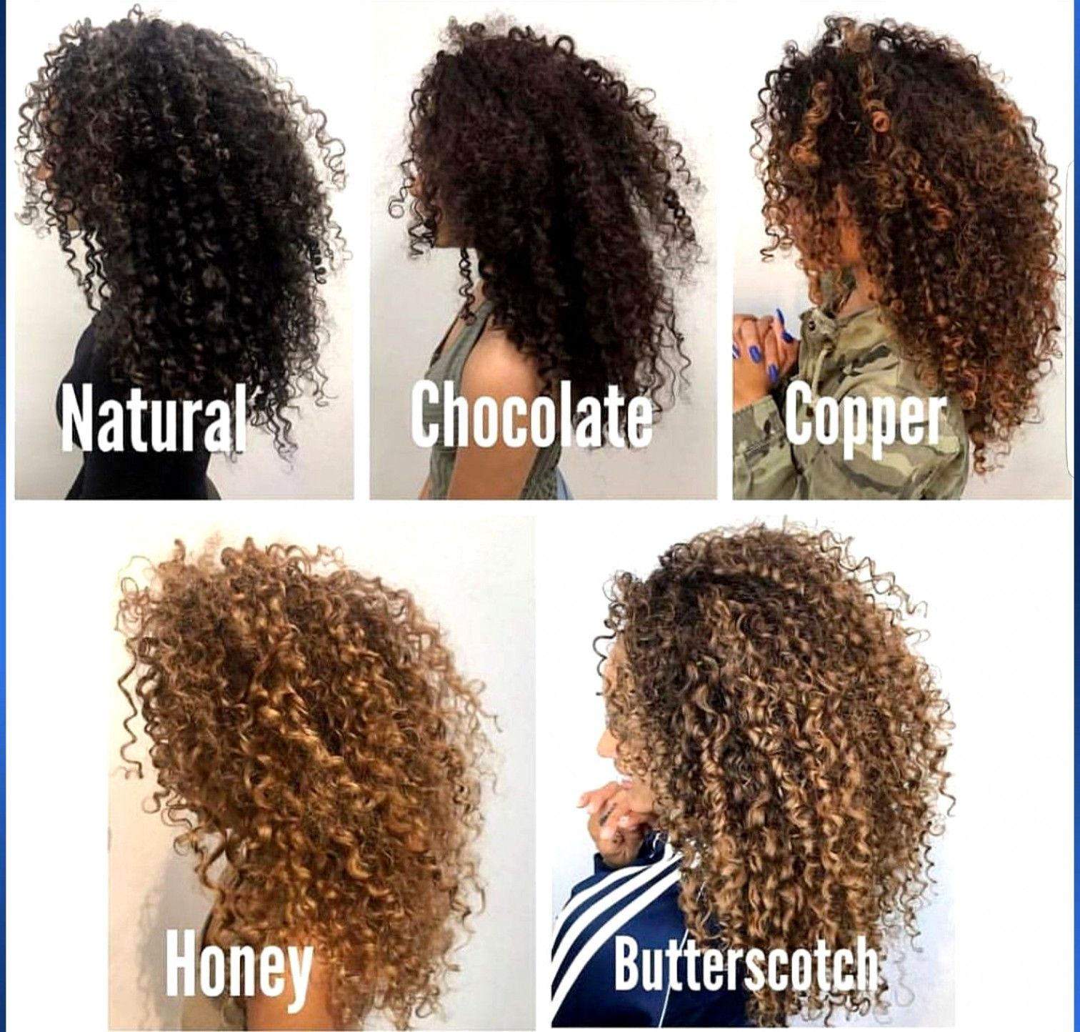 Hair Color Ideas For Natural Curly Hair Longcurlyhair Hair Styles Curly Hair Styles Dyed Curly Hair