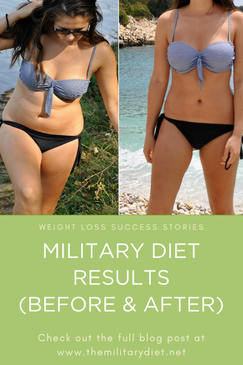military diet results after a month