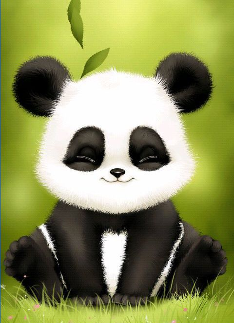 Panda Cute Panda Wallpaper Panda Background Panda Art