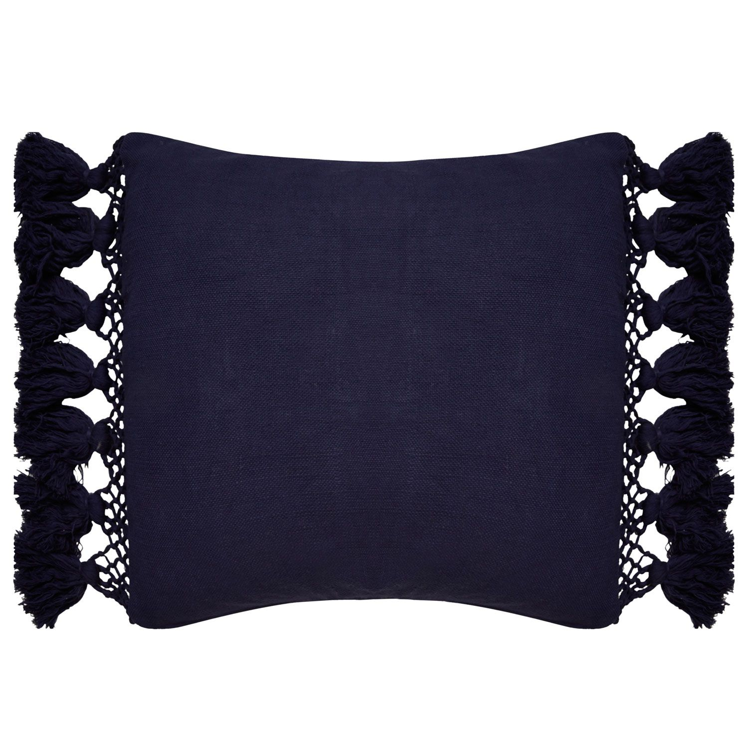 This Pillow Punches Up The Color And Comfort Quotient Of Your Home With Panache 20in W X 20in H Availa Tassel Pillow Elegant Throw Pillows Kate Spade Pillows