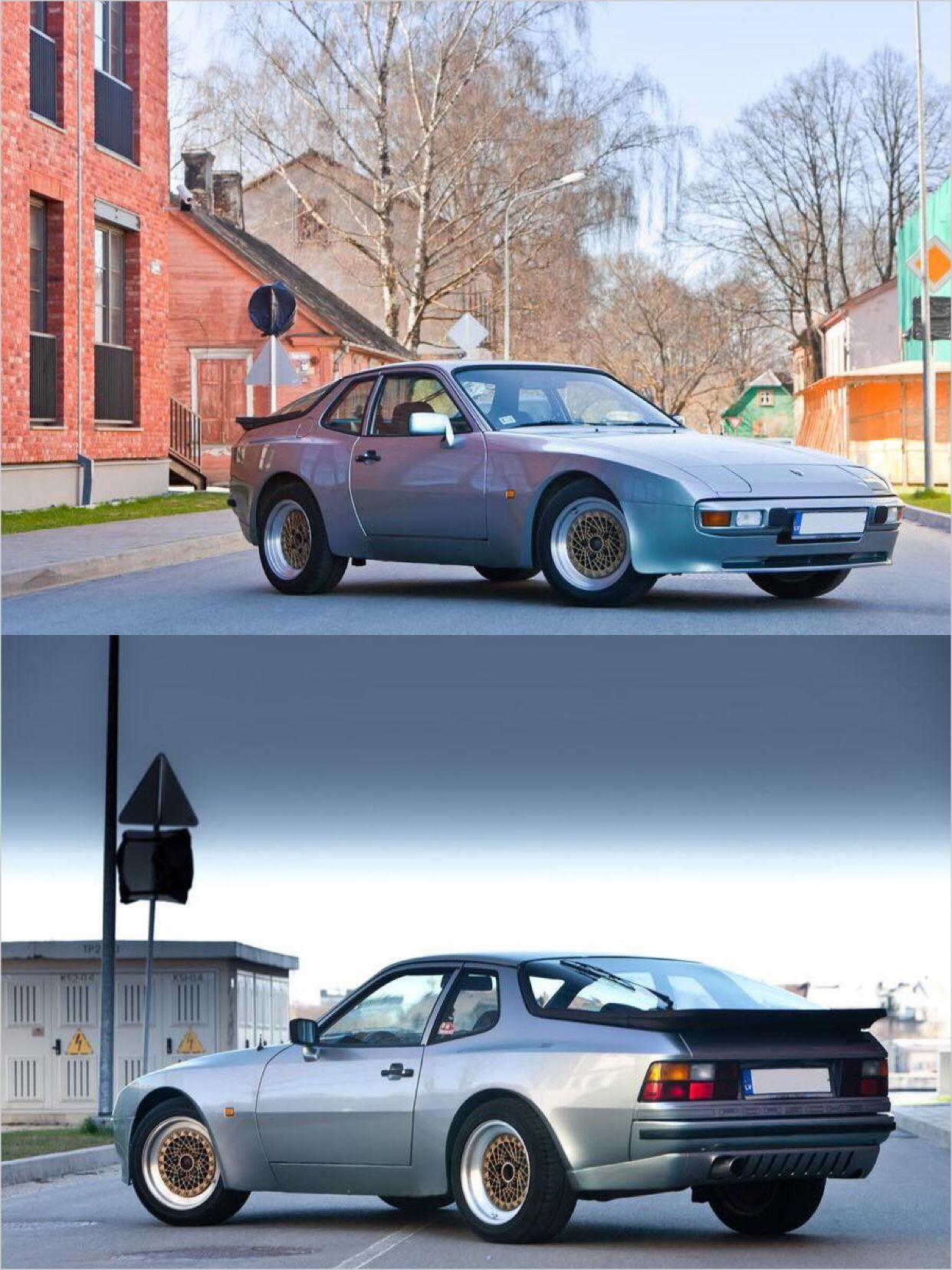 Porsche 944 Euro Spec With Euro Rear Valance And Bbs Wheels Porsche 944 Porsche Porsche 924