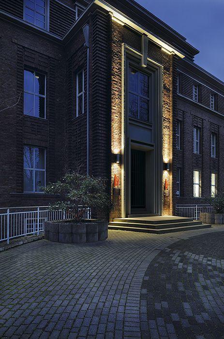 Aussenbeleuchtung Fassade fassadenbeleuchtung hausbeleuchtung garagenbeleuchtung schrack