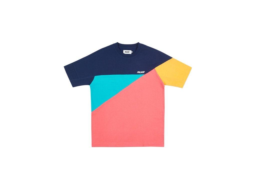 fc10d302 Palace Metric T-Shirt Navy in 2019 | high key cops | T shirt ...