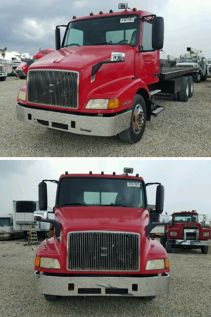Bid On This 2000 Volvo Vn Located At Our Copart Miami South