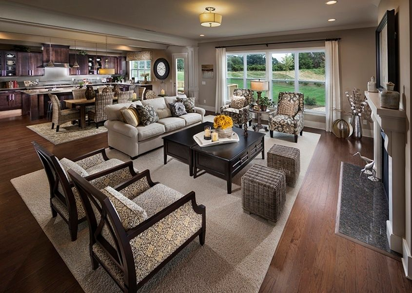 transitional great room with carpet metal fireplace on extraordinary living room ideas with lighting id=36857