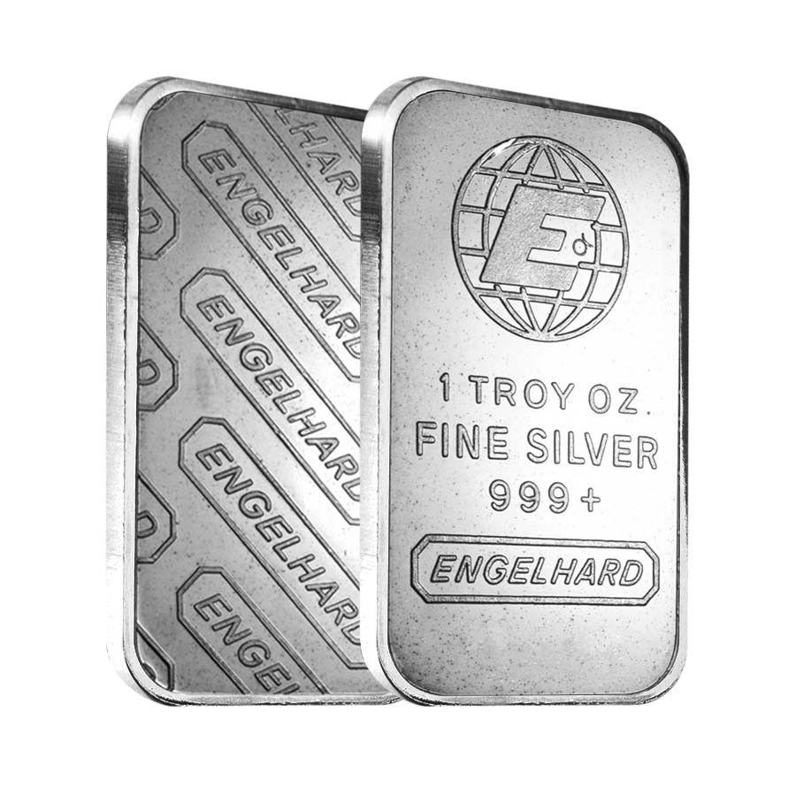 1 Oz Engelhard Silver Vintage Bar 999 Silver Bars Vintage Bar Silver Coins Worth