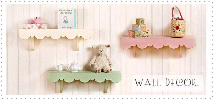 The cutest shelves ever!!