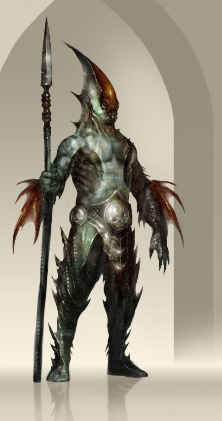 Guardian of Atlantis by QuinnSimoes on DeviantArt