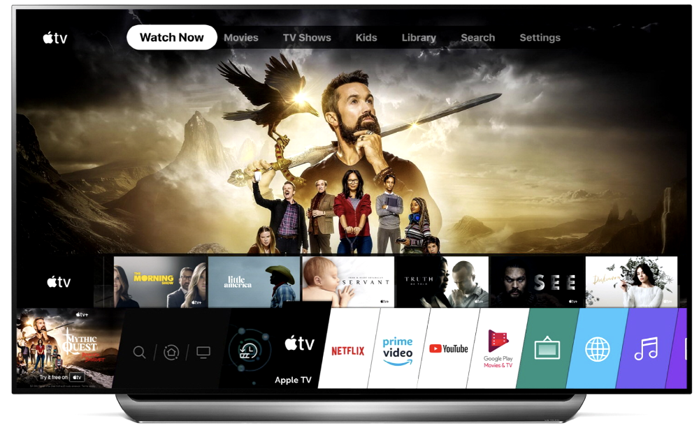 Apple TV app, Apple TV+ now available on 2019 LG TVs
