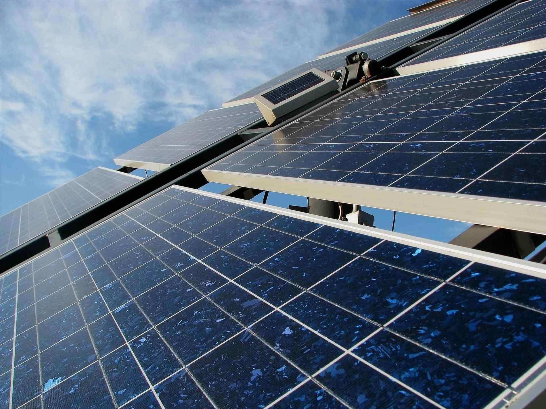 Rack Mounted Solar Panels Modules Solar Roofing How Do The Solar Panels Work Solar Panel Roof Tiles And Solar Powered In 2020 Solar Solar Panels Roof Solar Panels