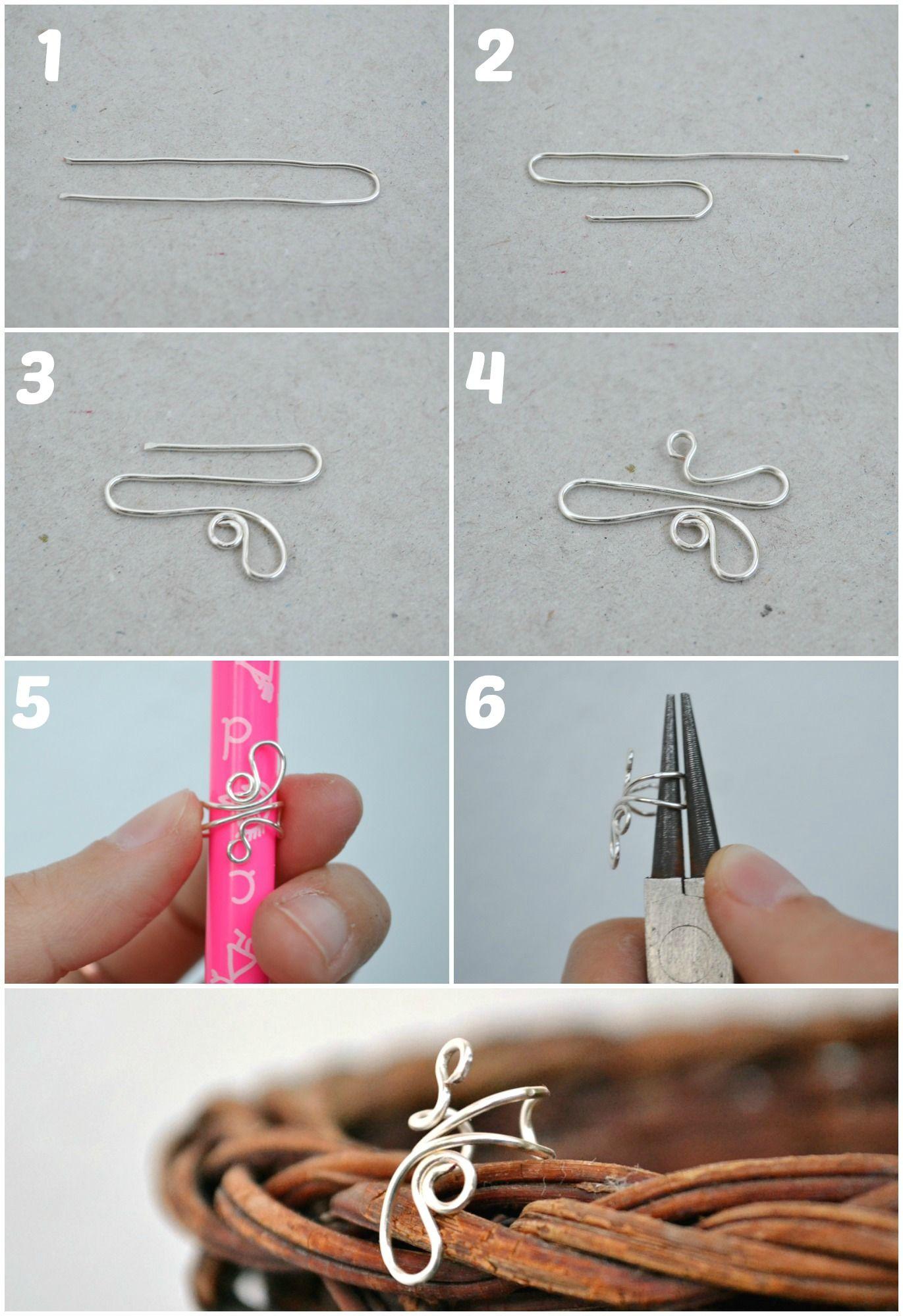 EC00 – Breslo :: Breslog | Ear Curff | Pinterest | Wire wrapping ...