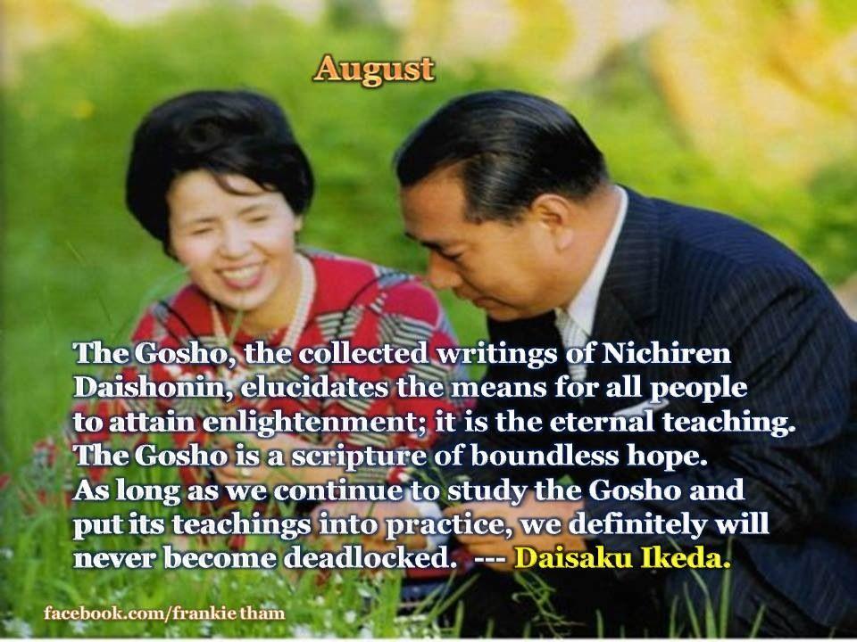 Daisaku Ikeda Quote | Ikeda quotes, Buddhism, Words of wisdom