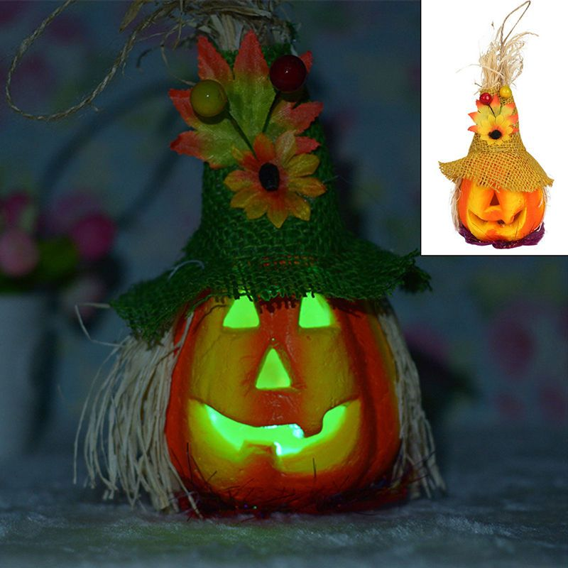 Halloween bar party decoration led jack o lantern light up pumpkin halloween bar party decoration led jack o lantern light up pumpkin lamp prop new aloadofball