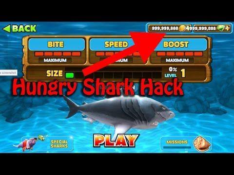 mod apk android 1 hungry shark