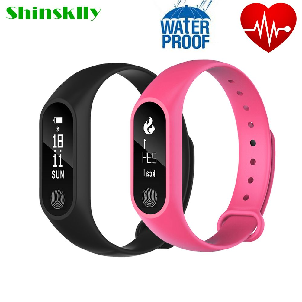 Shinsklly M2 Plus Smart Band Ip67 Waterproof Fitness Tracker Heart Rate Monitor Click Visit To Buy Fro Fitness Tracker Wristband Smart Band Heart Rate Monitor