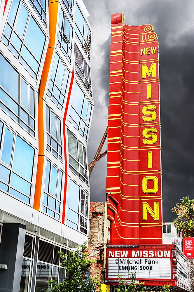 Architecture In The Mission District San Francisco By Mitchell Funk