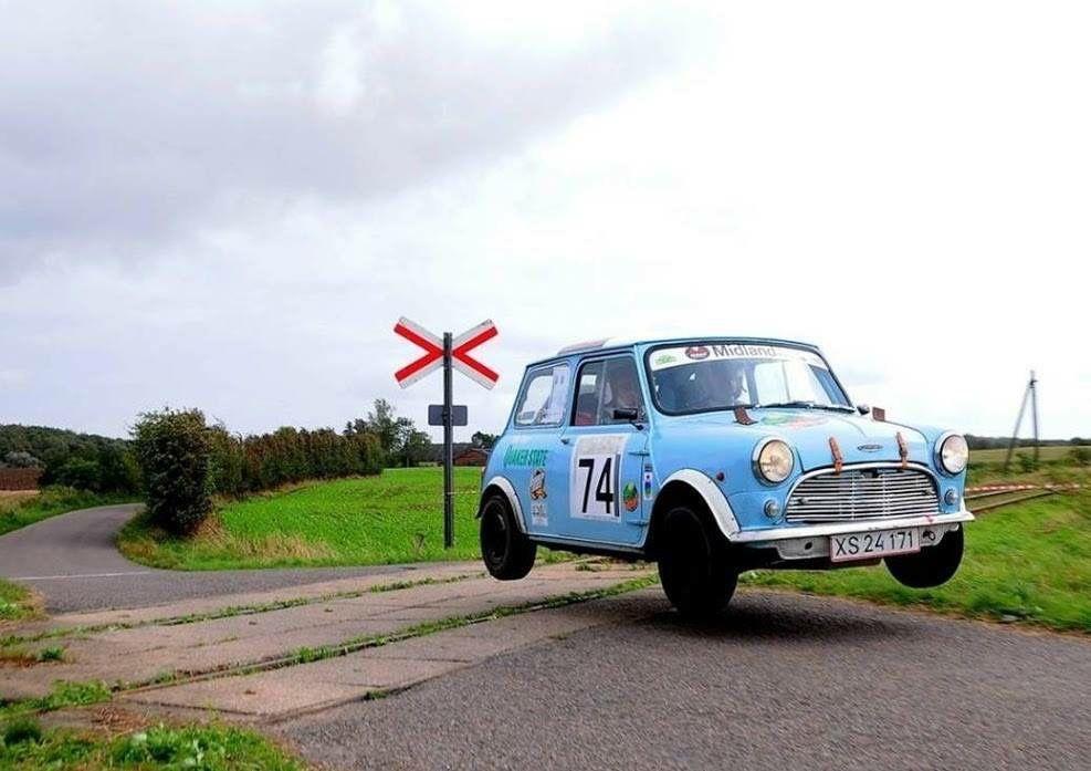 Jumping Wheels Cars Mini Morris Mini Clubman Classic Mini
