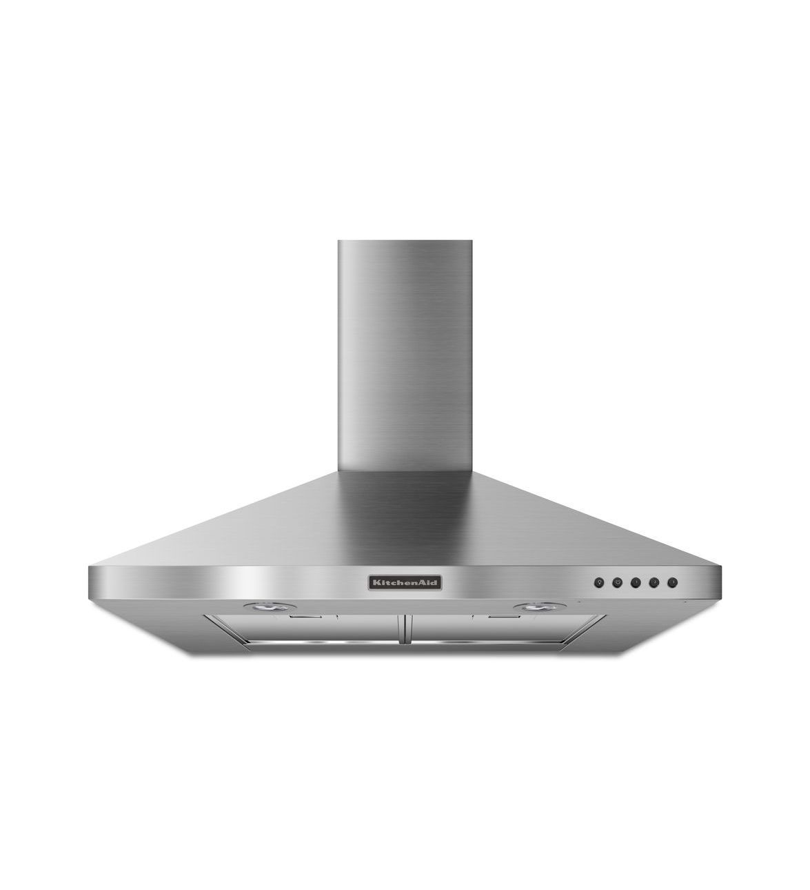 Kitchen Ventilation Kitchenaidar 30 Wall Mount 400 Cfm Canopy Hood Architectar Series