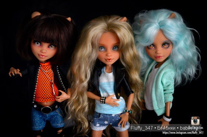 ООАК Monster High - Разные фото моих девочек / ООАК Монстр ...
