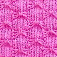 Butterfly Bowknot is slip sttich pattern. It may look ...
