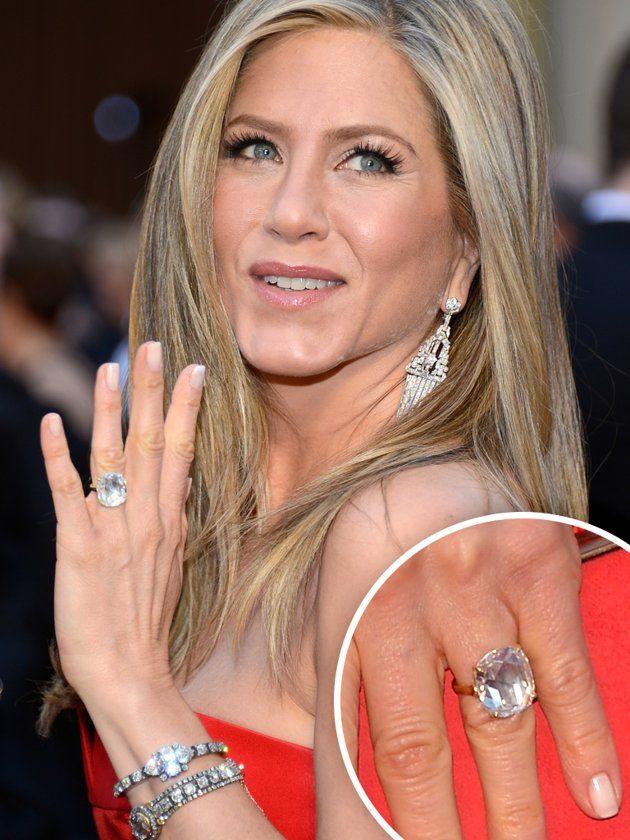 Jennifer Aniston Engagement Ring Celebrity Rings Celebrity Engagement Rings Trending Engagement Rings