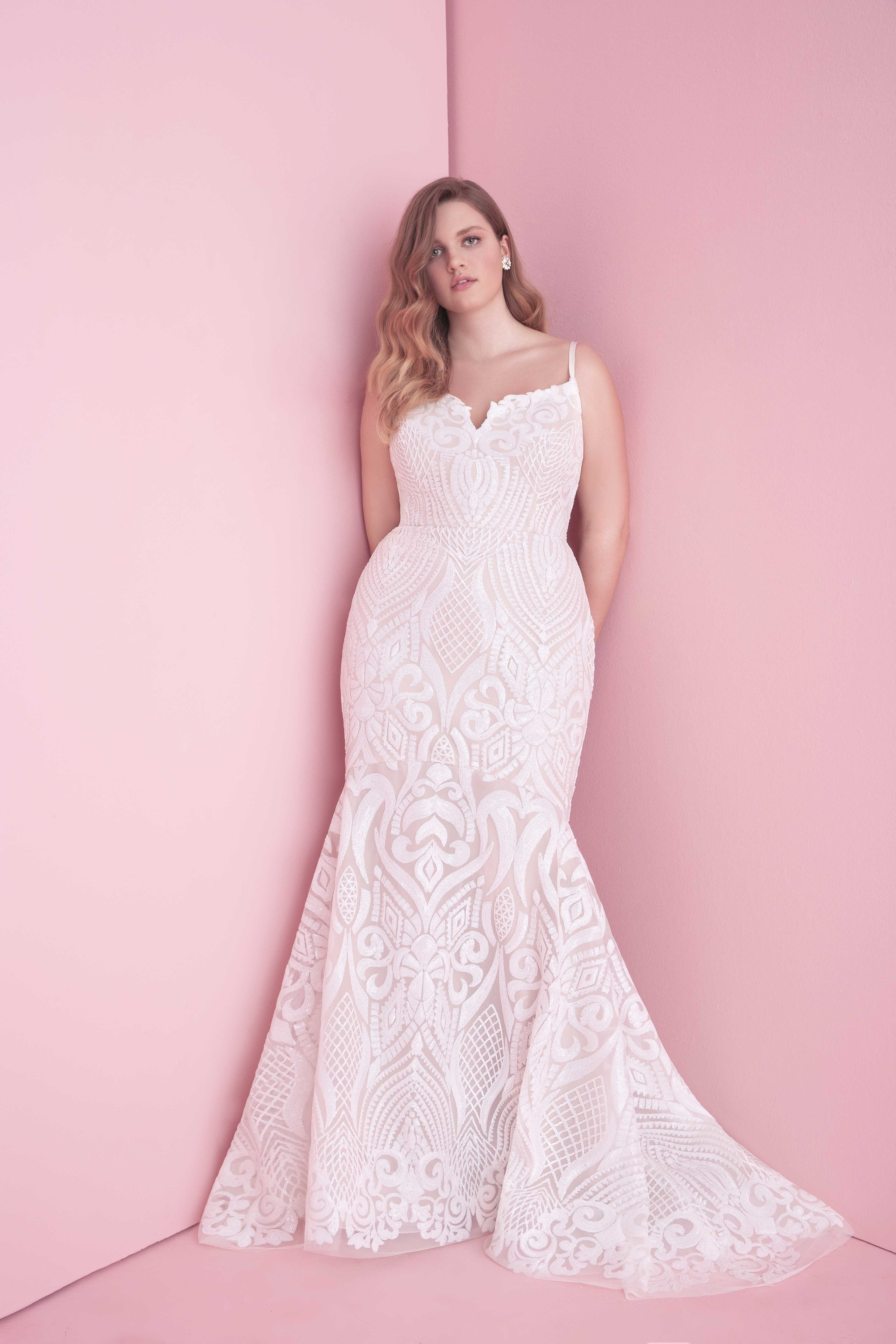 Plus size pink wedding dresses  Plus sized bride brides has you covered with some of the best