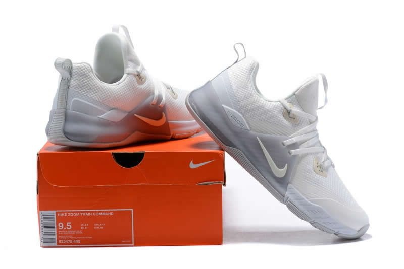 Cheap Nike Zoom Train Command White Silver Grey