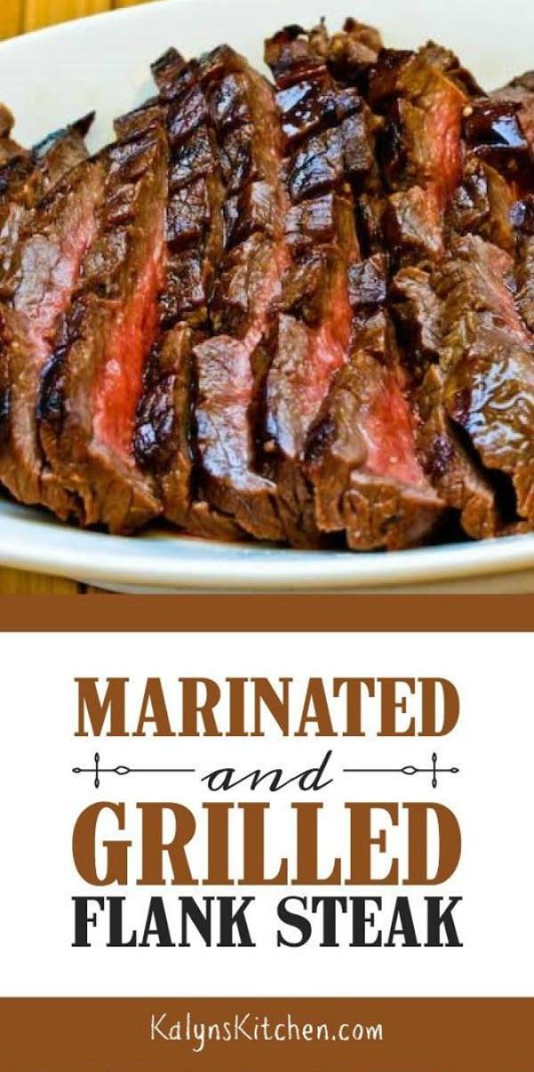 Marinated and Grilled Flank Steak #recipesforflanksteak
