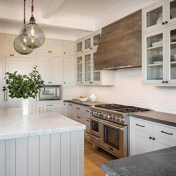 Reclaimed Wood Kitchen Hood Transitional Kitchen Sutro