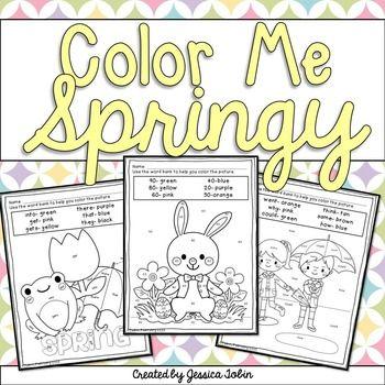 Spring Coloring Sheets Spring Coloring Sheets Spring Classroom Spring Preschool