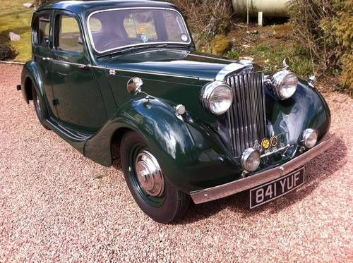 Sunbeam Talbot 10 Saloon 1940 On Car And Classic Uk C402253