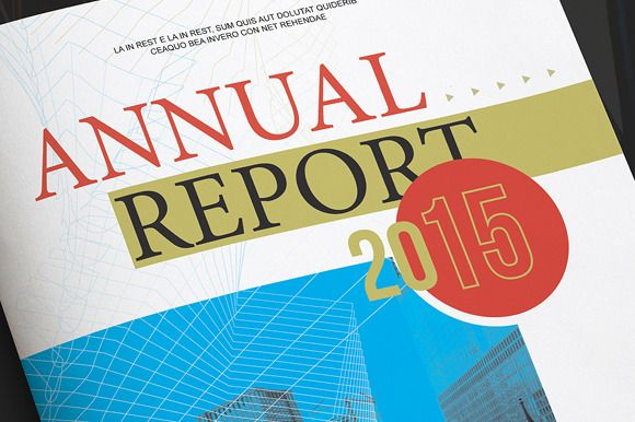 Annual Report Template – Annual Reports Templates